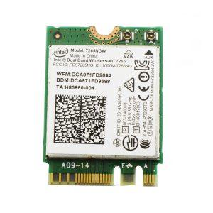 Card WIFI Intel AC 7265 khe M2 NGFF cho laptop