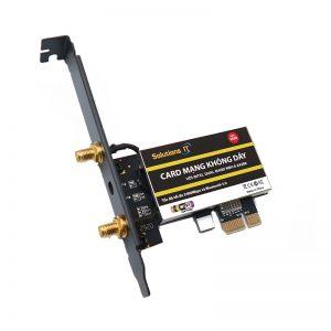 Card WIFI Intel WIFI-6 AX200 GIG+ khe PCI tích hợp Bluetooth 5.1 phiên bản mới