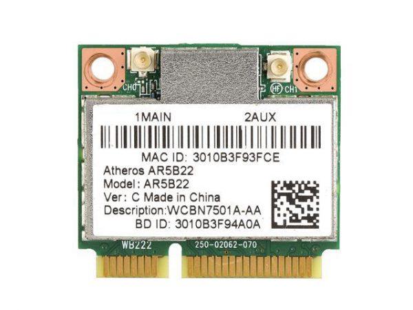 Card WIFI Atheros AR5B22 2.4Ghz và 5.0Ghz và Bluetooth 4.0