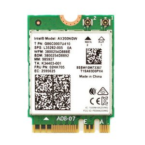 Card WIFI Intel WIFI-6 AX200 khe M2 NGFF cho laptop
