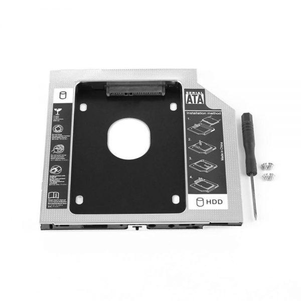Caddy Bay HDD Laptop sata  dày 12.7mm