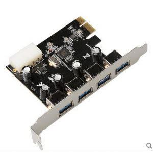 Card Mở Rộng USB 3.0 Từ Khe PCI E - 1 nguồn Phụ