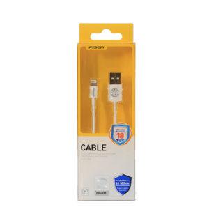 Cáp sạc Pisen Lightning (Fast) 100cm cho IPhone - Hàng chính hãng