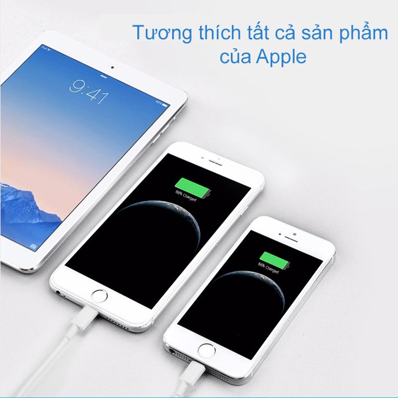 Cáp sạc Pisen Lightning(Fast) 100cm cho IPhone - Hàng chính hãng