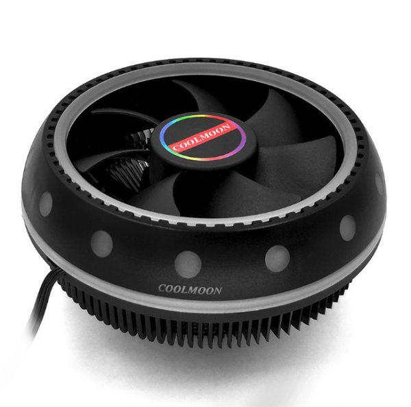 Fan tản nhiệt đa năng cho cpu Coolmoon UFO - Mixed Color