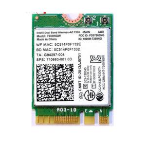 Card WIFI Intel AC-7260 M2 hàng tháo máy
