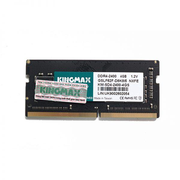 RAM Laptop DDR4 4GB 2400 Kingmax chính hãng