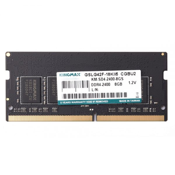 RAM Laptop DDR4 8GB 2400 Kingmax chính hãng