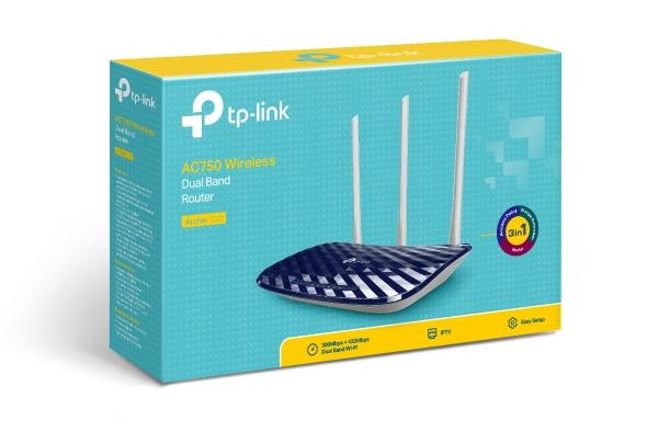 Router băng tần kép TP-Link Archer C20 (AC750)