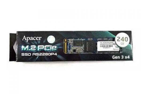 Ổ cứng SSD Apacer 256GB AS2280P4 M.2 PCIe NVme Gen 3X4